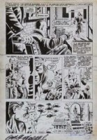 GULACY, PAUL - Master of Kung Fu #18 (2nd Issue) pg 5, big panel - Shang Chi, Sir Denis - 1st GULACY Master Comic Art