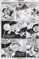 GULACY, PAUL - Master Kung Fu (final Gulacy issue!) #50 pg 30, Shang Chi, Fu Manchu defeated 1974 Comic Art