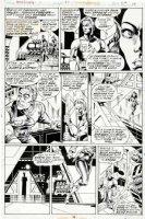 GULACY, PAUL - Master Kung Fu #49 pg 10, Leiko Reston & Fu Manchu 1974 Comic Art
