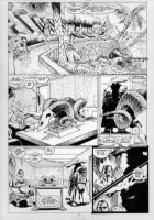 KIETH, SAM - Marvel Comics Presents #86, complete 8 page story- pg 2, Cyber & the General Comic Art