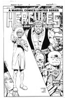 LAYTON, BOB - Hercules: Twilight Gods #3 cover Comic Art