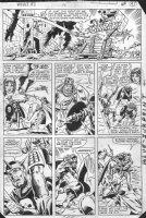LAYTON, BOB / DON PERLIN - What If #33 pg 13, Iron Man in King Arthur's court Comic Art