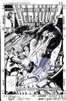 LAYTON, BOB - Hercules vol 2 #3 cover with logo overlay, Thanos on cover Comic Art