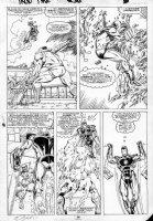 LAYTON, BOB / BUTCH GUICE - Iron Man 236 pg 26 Ironman vs Grey Gargoyle Comic Art