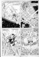 LAYTON, BOB / BUTCH GUICE - Iron Man 237 pg 20 - 4 panel page Comic Art