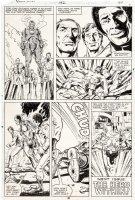 LAYTON, BOB / JERRY BINGHAM - Iron Man #132 last pg, Iron Man / Stark, vs 3rd Ant-Man & Jim Rhodes stop Hulk Comic Art