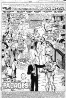 LAYTON, BOB - Iron Man #137 pg 1 Splash, IM at party, Jim Rhodes, Scott Lang & Daughter / new Antman Comic Art