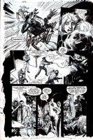 SIENKIEWICZ, BILL - Green Arrow / Black Canary: Big Game pg 28 Comic Art