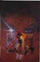 SIENKIEWICZ, BILL -  Mercedes Nights  huge Sci Fi HC book painting, good-girl art 1987 Comic Art