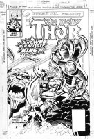 SIENKIEWICZ, BILL / RON FRENZ pencils - What If #107 cover- Thor Comic Art