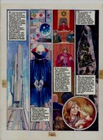 Morrow, Gray - Missile Command - DC graphic Novel #8 unpublished story pg 10  Comic Art
