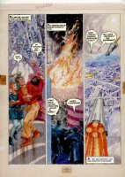Morrow, Gray - Missle Command - DC graphic Novel #8 unpublished story pg 14 Comic Art