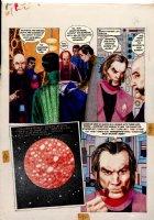 Morrow, Gray - Missle Command - DC graphic Novel #8 unpublished story pg 15 Comic Art