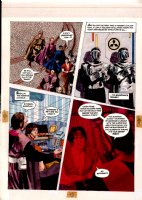 Morrow, Gray - Missle Command - DC graphic Novel #8 unpublished story pg 20 Comic Art
