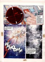 Morrow, Gray - Missile Command - DC graphic Novel #8 unpublished story pg 26 Comic Art