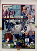 Morrow, Gray - Missile Command - DC graphic Novel #8 unpublished story pg 7  Comic Art