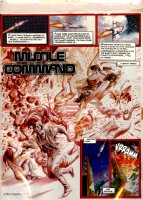 MORROW, GRAY - Missle Command complete 26 pg painted story  Alpha Wave  1982 Comic Art