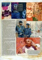 Gray Morrow - The Illustrated Roger Zelazny- Rose story,  page 100 - 1978 Comic Art
