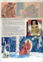 Gray Morrow - The Illustrated Roger Zelazny- Rose story,  page 87- 1978 Comic Art