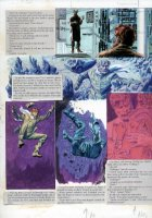 Gray Morrow - The Illustrated Roger Zelazny- Rose story, science lab  page - 1978 Comic Art