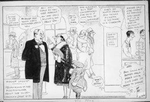 DORGAN, TAD - Indoor Sports 1920s daily cartoon - Store Comic Art