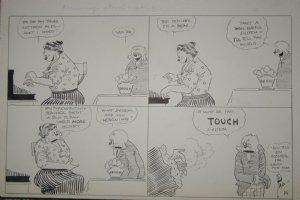 DORGAN, TAD - Judge Rummy 1926 daily cartoon Comic Art