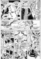 TRIMPE, HERB - Avengers Annual #6 pg 46 Vision vs Whirlwind Comic Art
