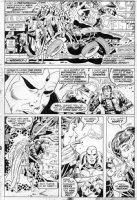 TRIMPE, HERB - Avengers Annual #6 pg 39, Vision solo story Comic Art