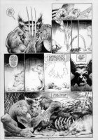 KIETH, SAM - Wolverine MCP #85 story pg 4 of 8 Comic Art
