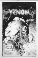 KIETH, SAM- Venom #4 cover  Comic Art