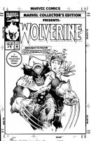 KIETH, SAM - Marvel Collectors Edition: Wolverine #1 cover Wolvie and Jubillee  Comic Art