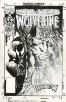 KIETH, SAM - Marvel Comics Presents #122 cover, Wolverine vs Venom, 1993 Comic Art