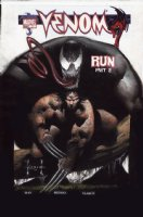KIETH, SAM - Venom #7 cover painting; Wolverine & Venom Comic Art