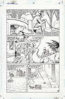 McMANUS, SHAWN - The Dreaming #50 pg 6, Mother Eve, Abel and Gregory arrive at their destination  Comic Art