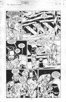 McMANUS, SHAWN - DC Dreaming #31 pg 8, Abel & freak show Comic Art