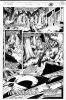 McMANUS, SHAWN - Punisher War Journal #50 pg 1 Comic Art