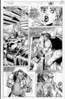 McMANUS, SHAWN - Punisher War Journal #50 pg 2 Comic Art