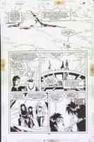 McMANUS, SHAWN - The Dreaming #39 pg 19, Lucius & elves Comic Art