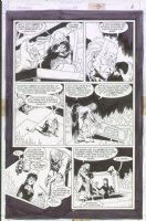 McMANUS, SHAWN - The Dreaming #39 pg 8, father & daughter elves Comic Art