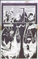McMANUS, SHAWN - The Dreaming #39 semi-splash pg 9, Dreaming cave & elves Comic Art