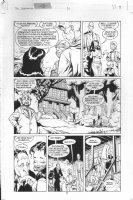 McMANUS, SHAWN - DC Dreaming #31 pg 9 host Abel & freaks Comic Art
