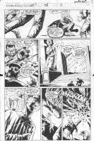 McMANUS, SHAWN - Marvel Comics Presents #115 pg 2, Ghost Rider & Iron Fist Comic Art