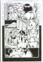 McMANUS, SHAWN - Generation X Annual #1 pg 15,  Comic Art