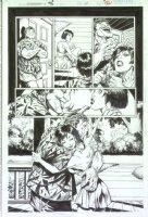 McMANUS, SHAWN - Generation X Annual #1 pg 39, big panel Comic Art