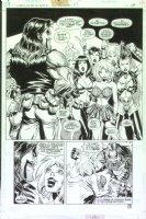 McMANUS, SHAWN - Lobo' Guide To Girls #1 semi-splash, good-girl art! Comic Art