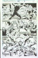 McMANUS, SHAWN - Marvel Comics Presents #109 pg 10, Thanos Comic Art