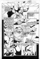 McMANUS, SHAWN - Spiderman Unlimited #10 pg 49 Comic Art
