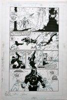 MIGNOLA, MIKE - Wolverine: Jungle Adventures #1 large-size pg Comic Art