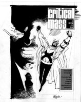MIGNOLA, MIKE - Critical Mass #1 cover (Marvel / Epic), Doctor Zero 1989 Comic Art