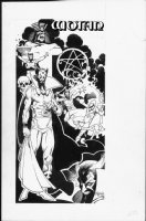 MIGNOLA, MIKE - DC Whos Who 1987 Pinup, Dr Fate & Wotan Comic Art